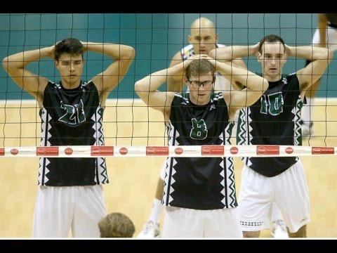 Hawaii Warrior Men's Volleyball 2017 - #7 Hawaii Vs Princeton