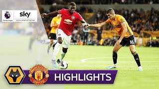 Neves-Traumtor schockt United | Wolverhampton - Manchester United 1:1 | Highlights - Premier League
