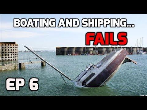 Boating and shipping fails ((compilation)) miracles at sea!