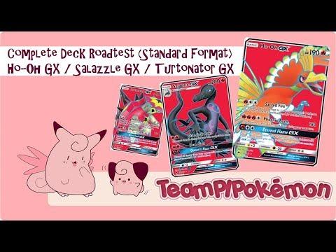 HO-OH GX / SALAZZLE GX ROADTEST PTCGO POKÉMON TRADING CARD GAME