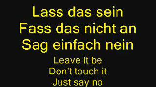 RAMMSTEIN - BUCKSTABU (LYRICS AND ENGL. TRANS.)