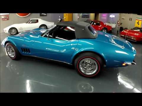 1969 Corvette - L46 350 hp, #'s Match, Le Mans Blue/Black, 4-Speed - Seven Hills Motorcars