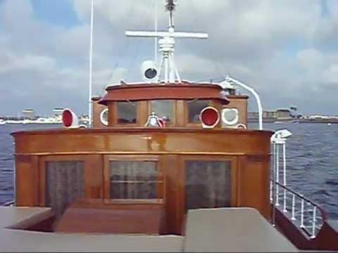 'Portola' Classic 1929 Fantail Yacht
