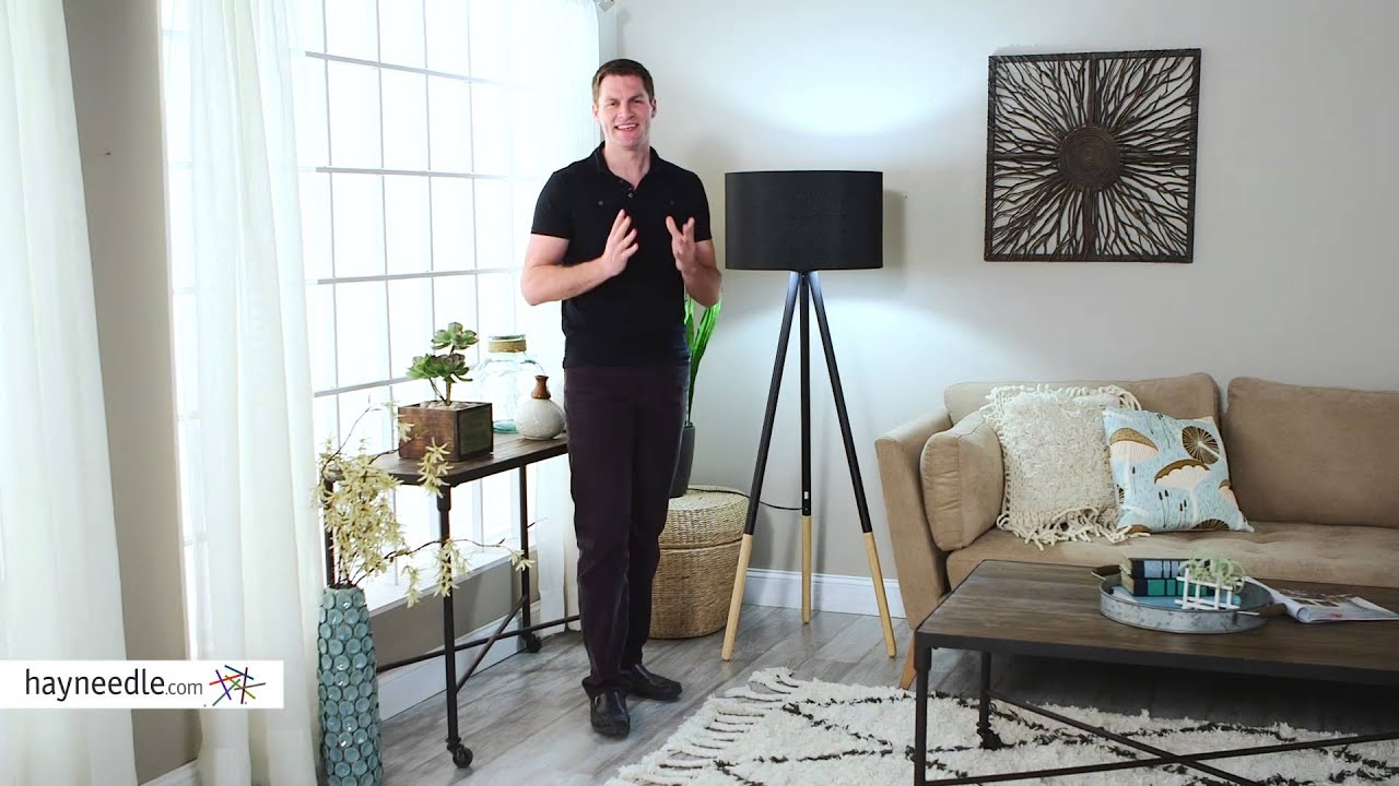 adesso louise floor lamp product review video - Adesso Floor Lamp