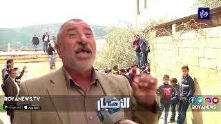 تشييع شهيد قرية عوريف بعد تصديه لاعتداءات المستوطنين - (11-3-2018)