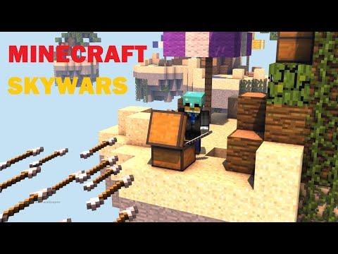 Minecraft Hypixel Skywars Ep.10 - FLYING HACKER!