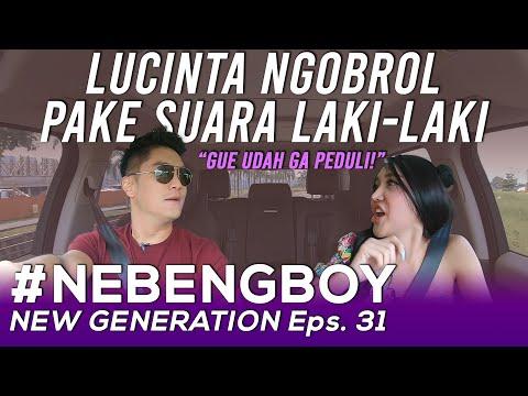 LUCINTA NGERJAIN OJOL PAKE SUARA ASLINYA! BOY NGAKAK! | #NebengBoyNewGeneration Eps. 31