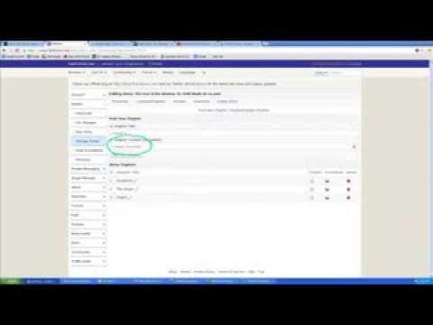 Fanfiction.net Tutorial: How To Upload Documents And Add New Chapters