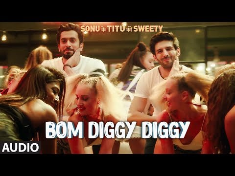 Mix - Bom Diggy Diggy(Full Audio) | Zack Knight | Jasmin Walia | Sonu Ke Titu Ki Sweety