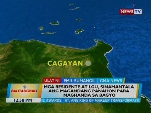 Mga residente at LGU, sinamantala ang magandang panahon para maghanda sa bagyo