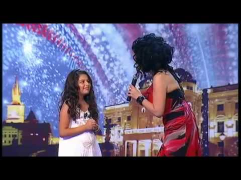GOT TALENT sings The Power of Love by Celine Dion. Diana Kalashova