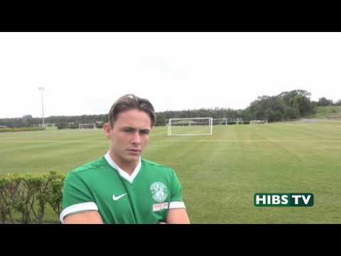 ▶ Hibs TV: Scott Allan - I'm Happy At Hibs