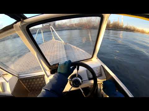 Видео уроки вождения моторной лодки