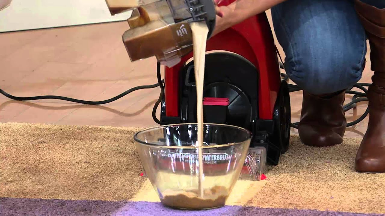 bissell quicksteamer powerbrush how to use