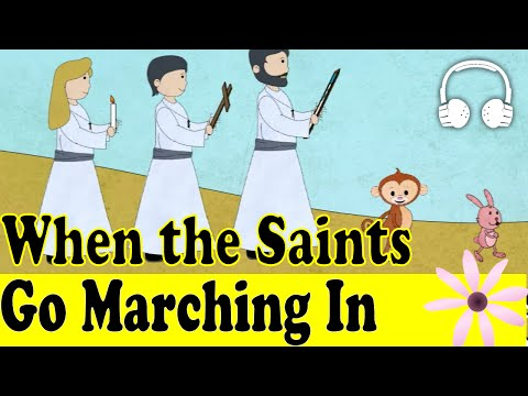 When the Saints Go Marching In | Family Sing Along - Muffin Songs