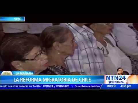 Caos y largas filas en oficinas de extranjer a en chile for Oficinas de extranjeria