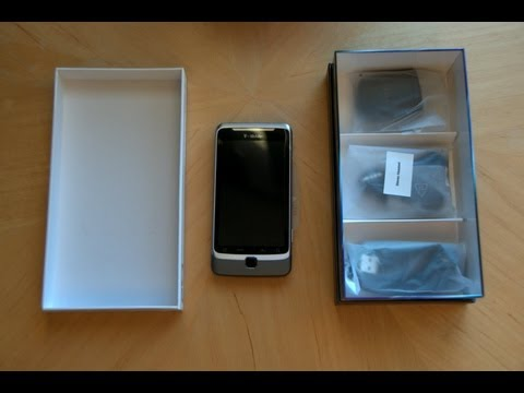T-Mobile Google HTC G2 Unboxing & Start Up