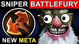 battlefury sniper dota 2 patch 7 07 new meta pro gameplay