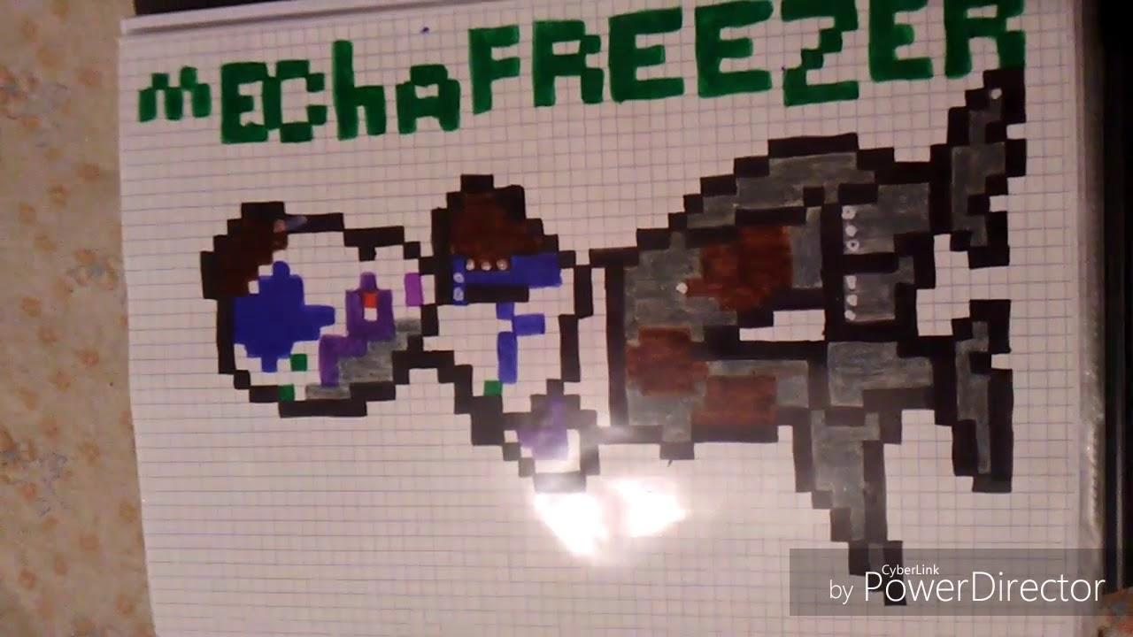 Pixel Art Mecha Freezer Youtube