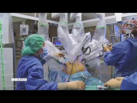 La chirurgie robotique aux HUG