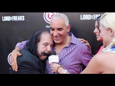 Eccentric Greek Billionaire ALKI DAVID & JENNIFER STANO Interviews at Lord Of The Freaks Premiere