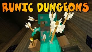 DUNGEONS INFINITAS | RUNIC DUNGEONS MOD| Minecraft Mod Review