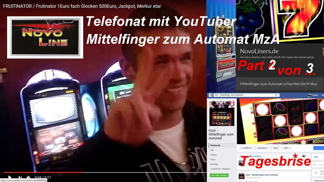 Mittelfinger Zum Automat