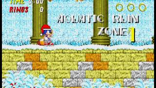 Sonic 2 - Christmas Edition - Vizzed.com GamePlay (rom hack) - User video