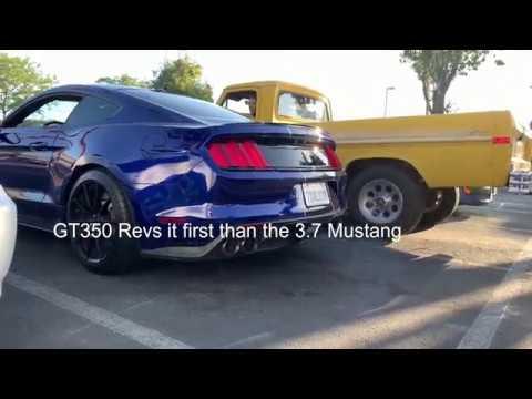 Best Sounding V6 Mustang?