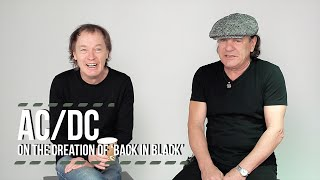 AC/DC on the Creation of