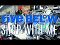 FIVE BELOW SHOP WITH ME | CUTE NEW $1 to $5 BAGS, CLOTHES & SHOES