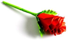 цветы из бумаги как сделать розу из бумаги своими руками Paper flowers