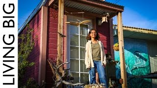 Biologist Builds Tiny House To Live Amongst Her Work