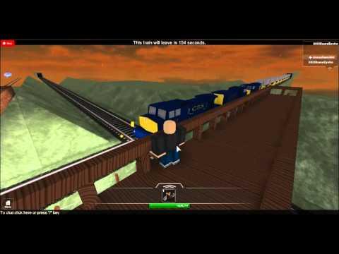 Roblox CSX coal train driveby - YouTube