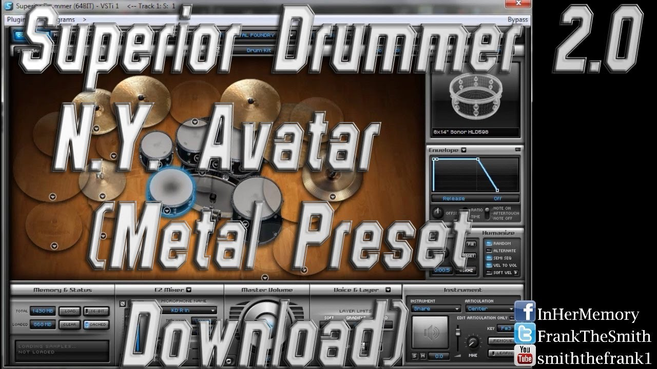 superior drummer 2 presets download