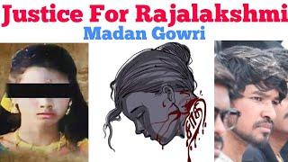 Justice For Rajalakshmi | Tamil | Madan Gowri | MG