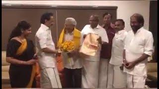 திமுக தலைவர் ஸ்டாலினை ,  CPIM பொதுச் செயலாளர் சீதாராம் யெச்சூரி சந்தித்தார் |STV