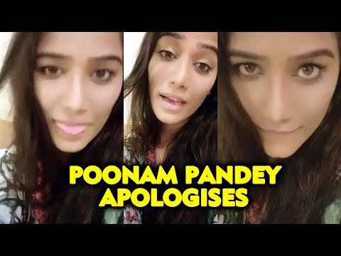 Poonam Pandey APOLOGISE For Last Night Bed Room Video | Full Story Revealed
