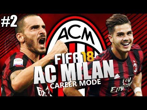 FIFA 18 | AC Milan Career Mode | #2 | Future Youth Star?