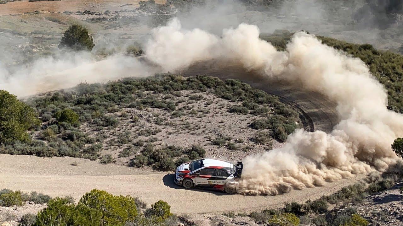 Toyota Yaris WRC - Rally Mexico 2020 Tests (Day2) - Sébastien Ogier/Julien Ingrassia (HD)