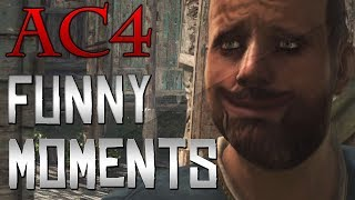 Repeat youtube video Assassin's Creed 4 - Funny Moments (AC4 Black Flag)