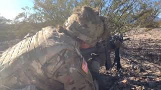 DFN:1st Battalion, 6th Infantry Regiment: Squad Live Fire Exercise FORT BLISS, TX, UNITED STATES