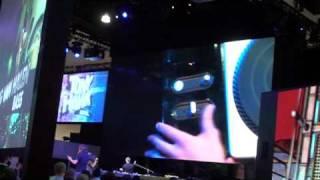 Legit Reviews @ E3 2009 - DJ Hero Turntable Controller