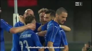 Gol Italy Vs Finland (2-0)