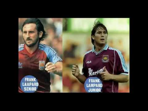 Frank Lampard West Ham United Goals Father & Son