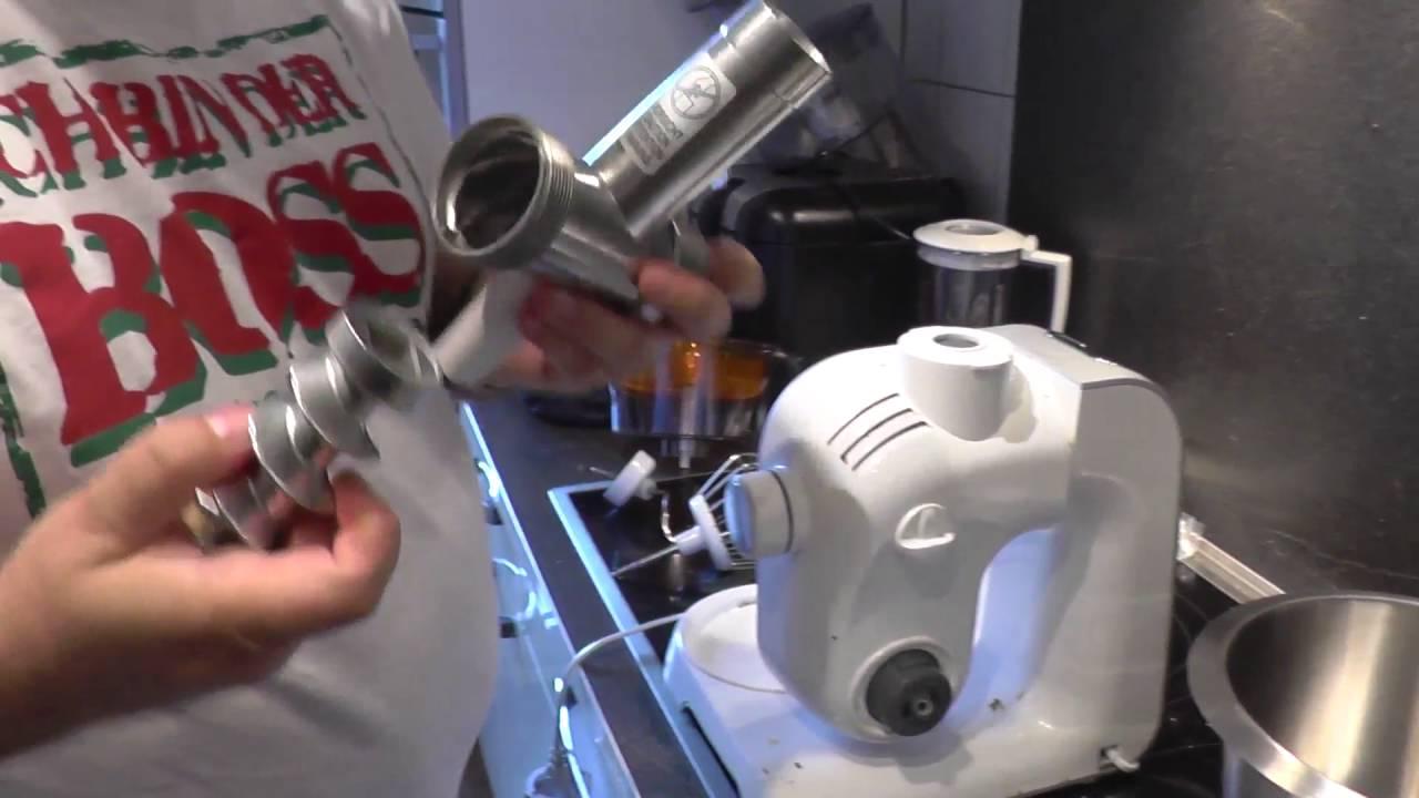 robot kuchenny bosch mum 54251/02 - youtube
