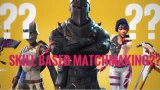 is fortnite skill based matchmaking will dating someone new help me get over my ex