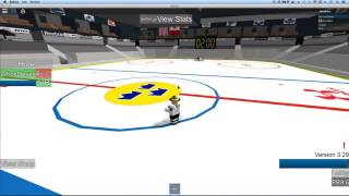 how to score everytime with hhcl goalies - Roblox Hockey