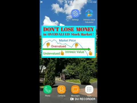 Warren Buffett Intrinsic Value Calculator - Apps on Google Play