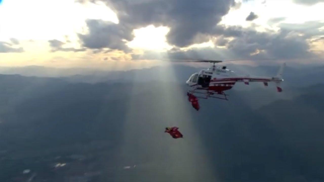 China Wingsuit Flying World Championship 2018 kicks off